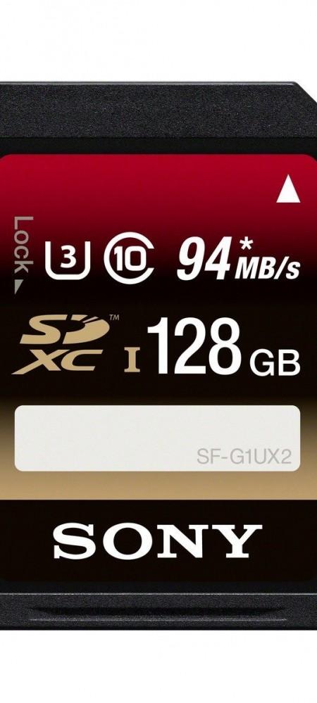 Sony 128GB Class 10 UHS-1:U3 SDXC up to 94MB:s Memory Card-1