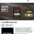 Sony 128GB Class 10 UHS-1:U3 SDXC up to 94MB:s Memory Card-2