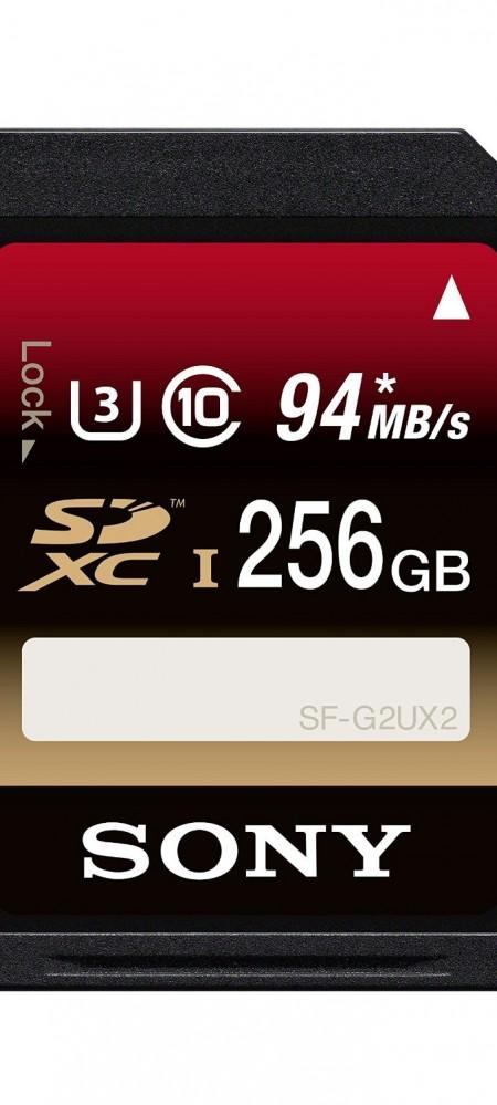Sony 256GB Class 10 UHS-1:U3 SDXC up to 94MB:s Memory Card-1