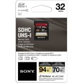 Sony 32GB Class 10 UHS-1:U3 SDHC up to 94MB:s Memory Card-2