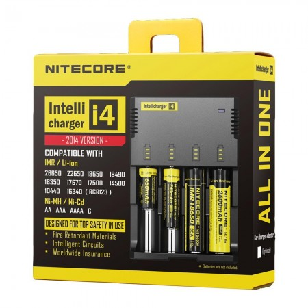 NITECORE i4 Intellicharge Battery Charger-1
