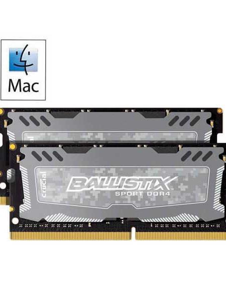 Crucial Ballistix Sport LT 32GB (2x16) DDR4-2400 2666 MTs Upgrade IMAC-2017